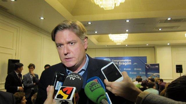 El secretario general del Partido Popular Europeo, Antonio López-Istúriz