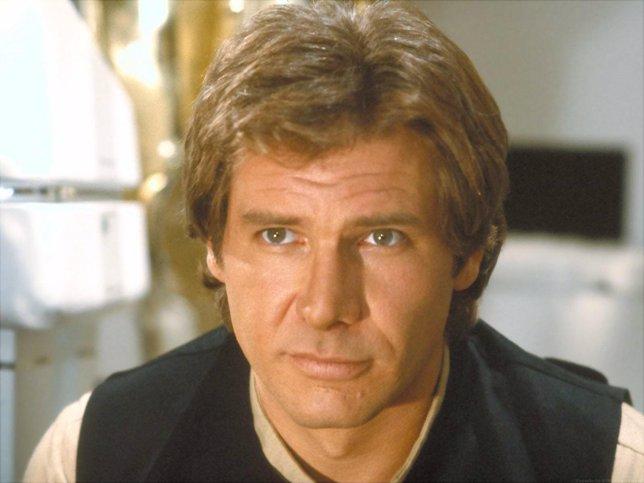 Imagen de Harrison Ford como Han Solo en la saga Star Wars