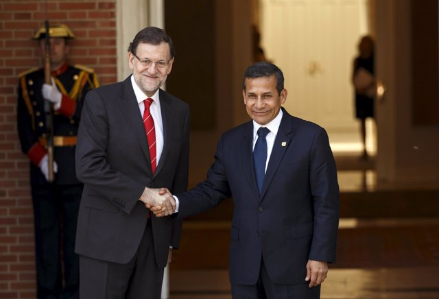 Ollanta Humala y Mariano Rajoy