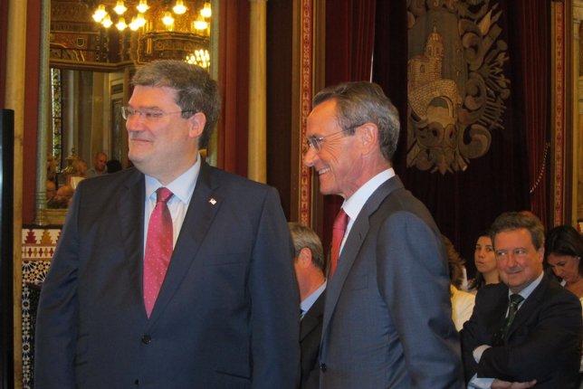 Juan María Aburto y Ángel Toña