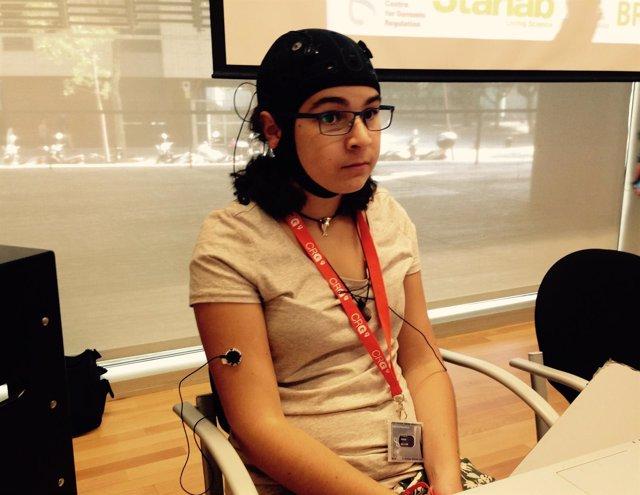 El CRG presenta un dispositivo que pone voz a los estímulos cerebrales