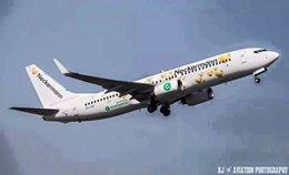 Avión de la compañía Transavia