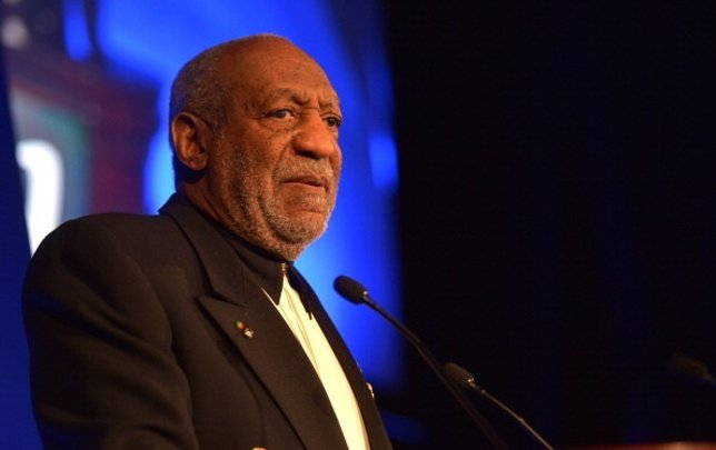 Bill Cosby en un evento en Nueva York