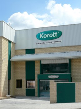 La empresa farmacéutica Korott, interproveedora de Mercadona.