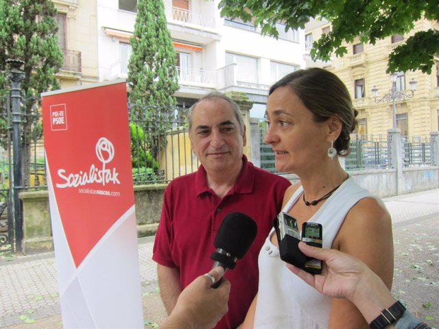 Iñaki Arriola y Luz Rodríguez