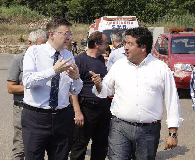 Puig y Moliner visitan el PMA