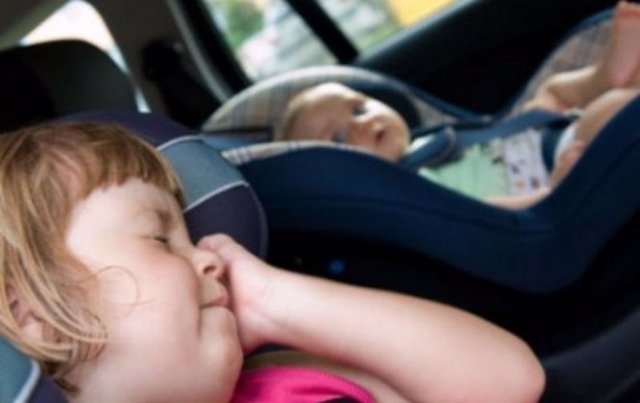 Cómo evitar que los menores se mareen durante los viajes.