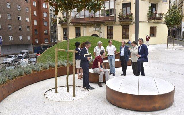Inauguración microespacio Juan de la Cosa