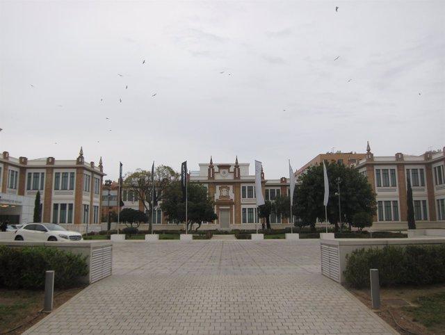 Edificio de Tabacalera de Málaga