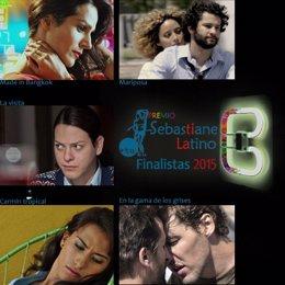 Finalistas del Premio Sebastiane Latino 2015.