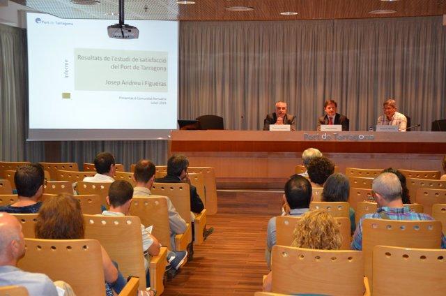 Presentación del Estudio de Satisfacción del Puerto de Tarragona
