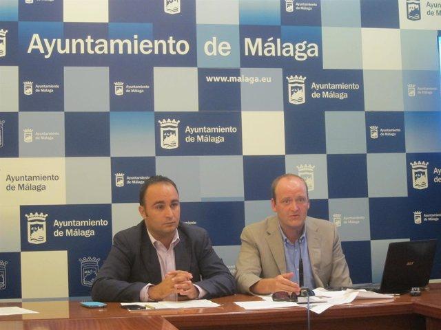 Mario Cortés y David Bueno