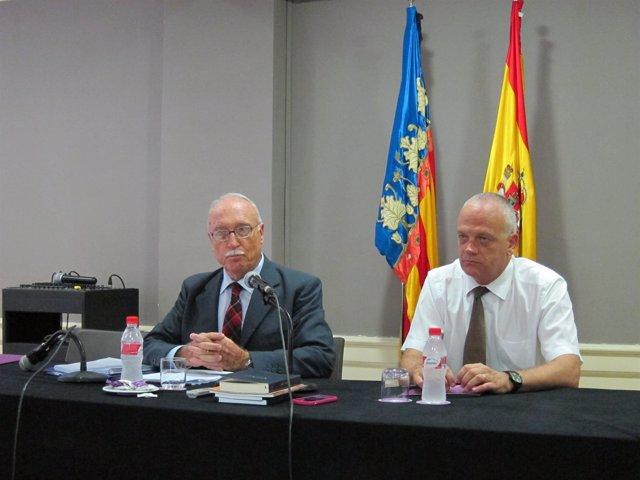 José Manuel Ricart, presidente de Junts front a l'AVL