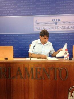 Moreno Yagüe en rueda de prensa