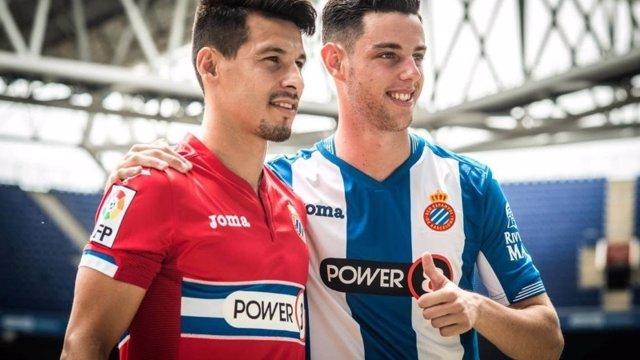 Hernán Pérez y Burgui, presentados con el Espanyol