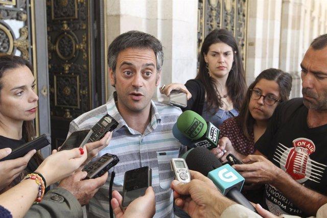 08 07 15 Declaracións Do Alcalde Da Coruña Ante A Prensa