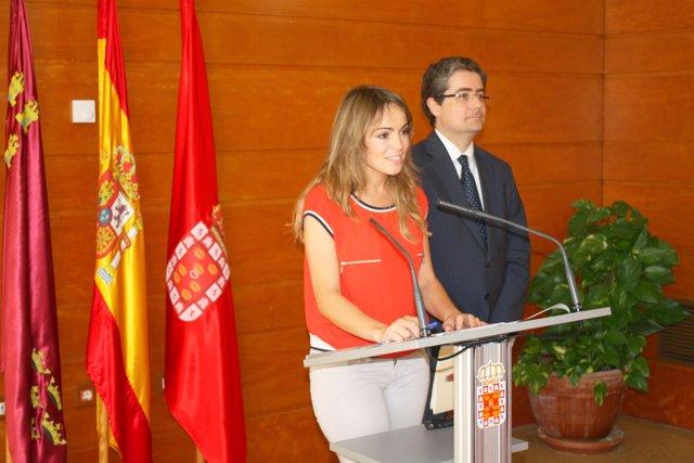 Rebeca Pérez y Jesús Pacheco dan cuenta asuntos de la Junta