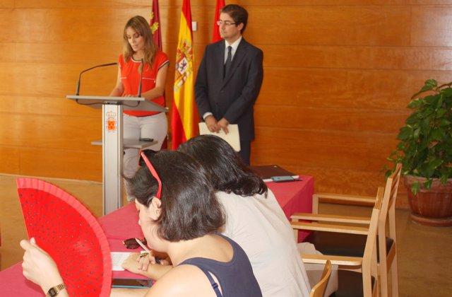 Rueda de prensa Junta de Gobierno con Rebeca Pérez y Jesús Pacheco