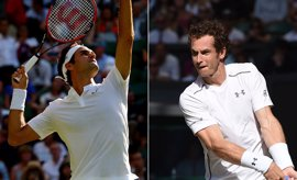 Federer y Murray pelearán por la final en Wimbledon