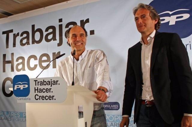 Ignacio Diego e Íñigo de la Serna