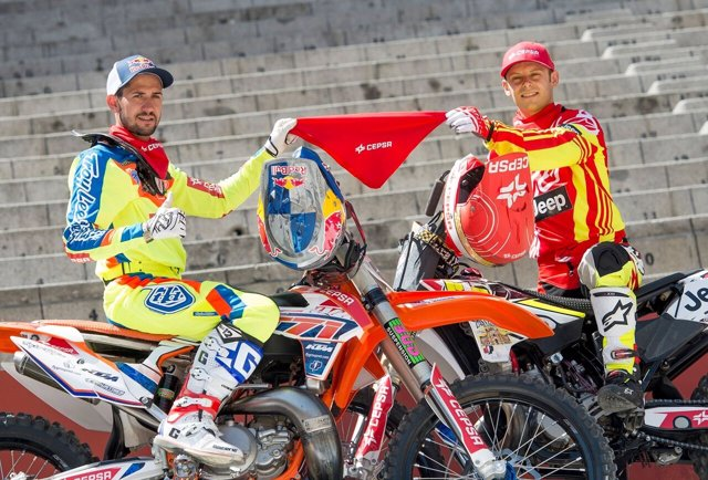 Dany Torres y Maikel Melero preparan el Red Bull X-Fighters