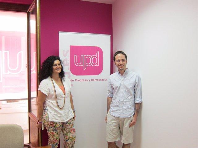 Eva María Sánchez y David Andina, 'Renovadores UPyD'
