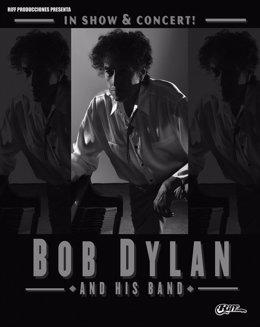 Cartel del concierto de Dylan