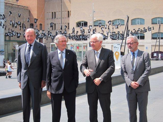 Rodés presentó el 17 de julio de 2014 la ampliación del Macba (Archivo)