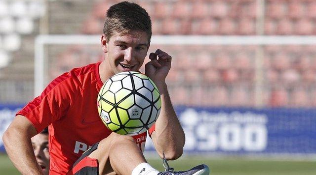 Vietto se entrena con el Atlético de Madrid por primera vez