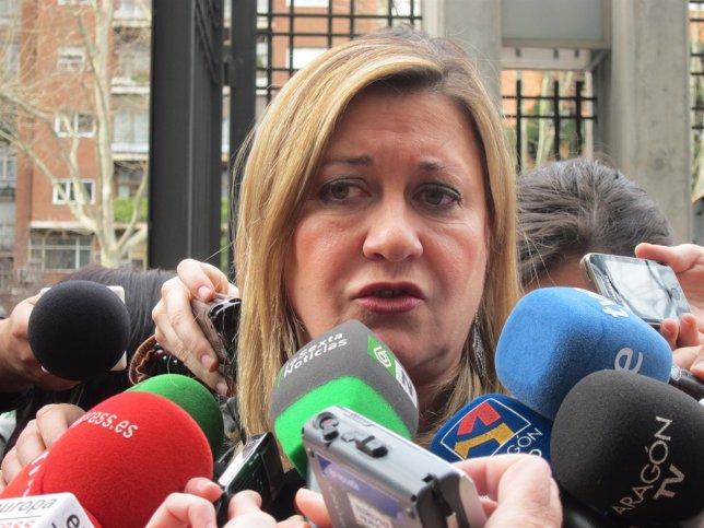 Pilar del Olmo, en CPFF