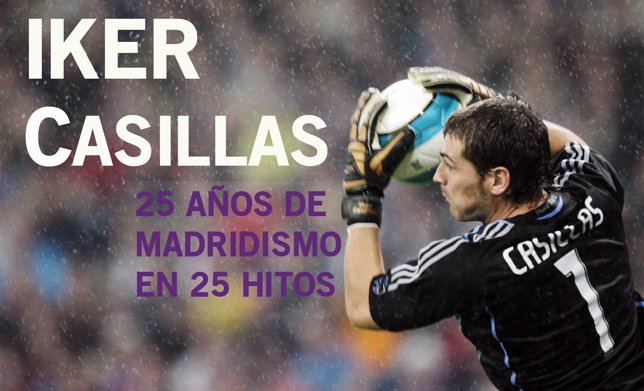 Real Madrid's goalkeeper Iker Casillas catches the ball during their Spanish Fir