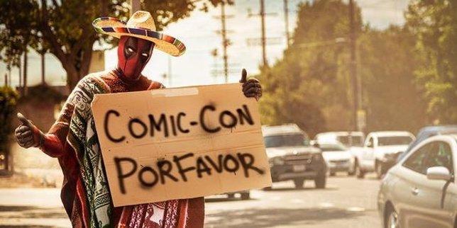 Deadpool hace autosptop para llegar a la Comic-Con 2015