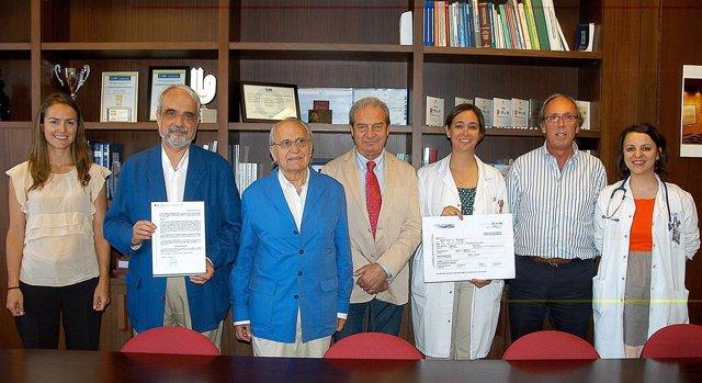 Fundación SEUR  y el Hospital Universitario Ramón y Cajal