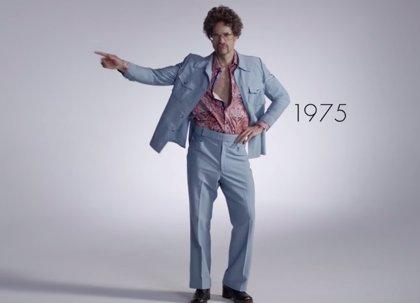 100 años de moda masculina en tan sólo 3 minutos
