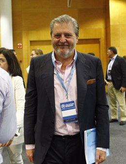 Íñigo Méndez de Vigo en la conferencia política del PP