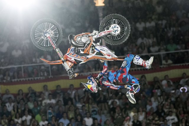 Dany Torres, en los Red Bull Fighters