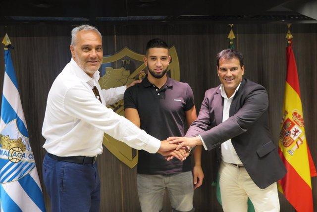 Málaga CF y NAC Breda alcanzan un acuerdo para el traspaso de Adnane Tighadouini