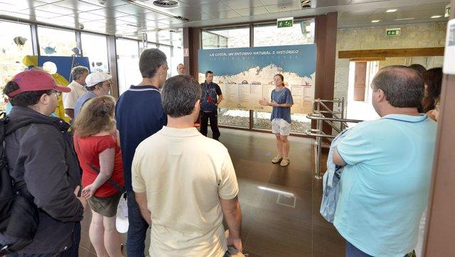 Visita centro interpretación litoral
