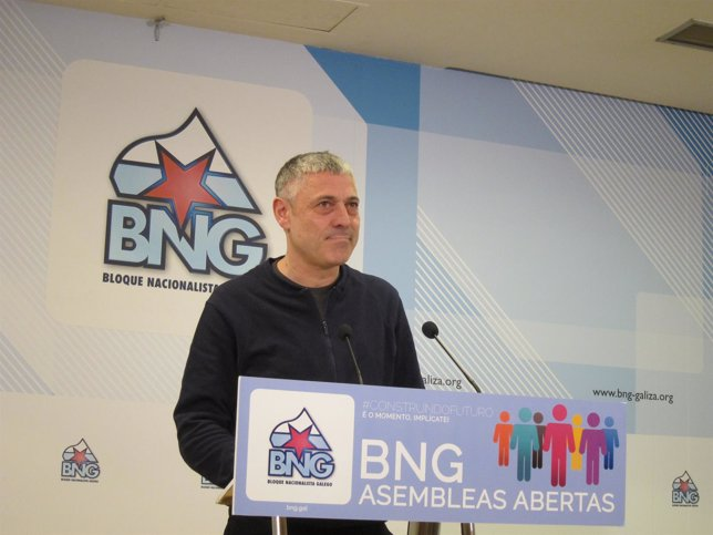 Bieito Lobeira, secretario de Organización del BNG