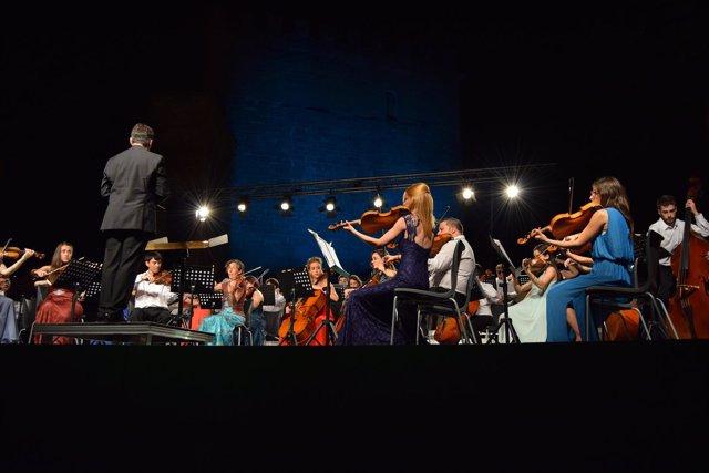 Concierto de la Orquesta Reino de Aragón en el Festival EnClaves.