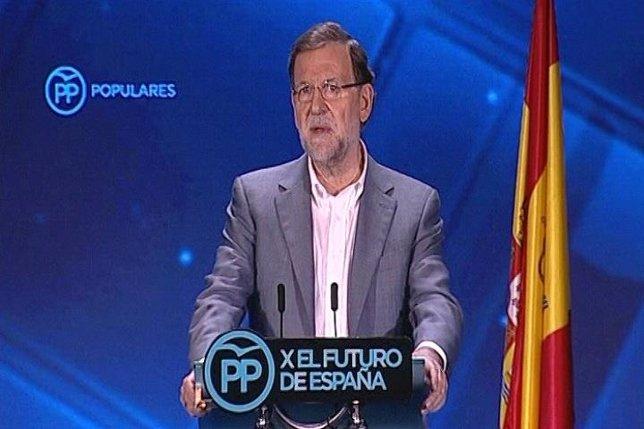 Rajoy clausura la Conferencia Política del PP el 11 de julio