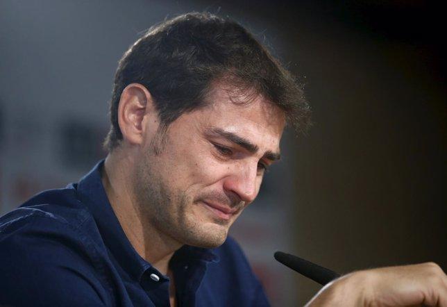 Iker Casillas se despide del Madrid