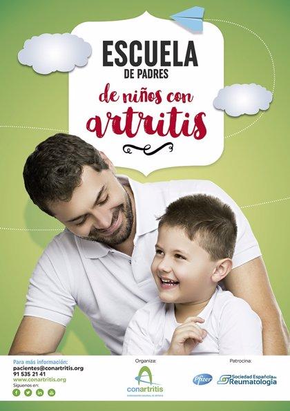 'Conartritis' abre la primera 'Escuela de padres de niños con artritis'