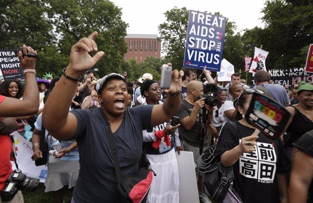 Sida, activistas en Estados Unidos