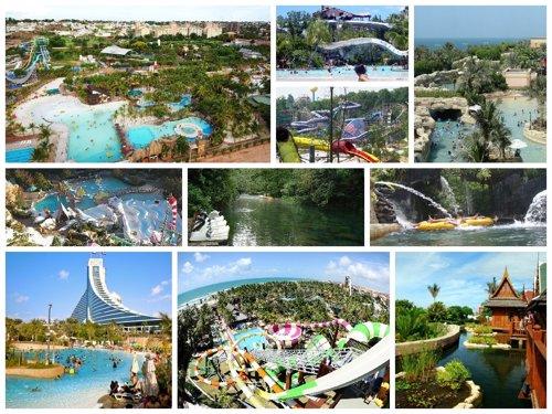 Los mejores parques acuáticos del mundo