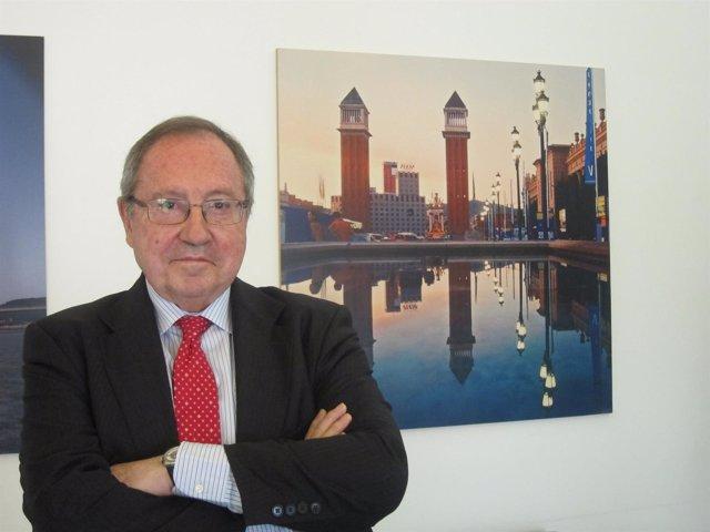El presidente de Fira de Barcelona, Josep Lluís Bonet