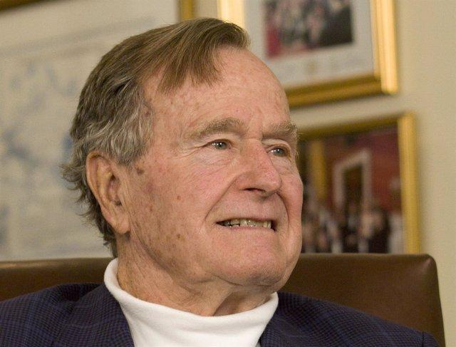 El expresidente de Estados Unidos, George H.W. Bush.