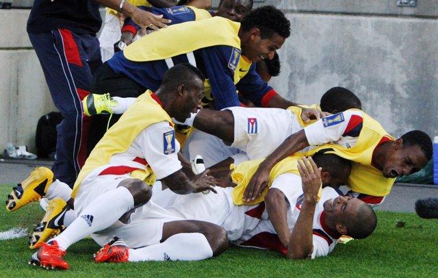 La selección de fútbol de Cuba
