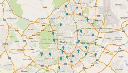 Piscinas de Madrid 2015: mapa para localizarlas