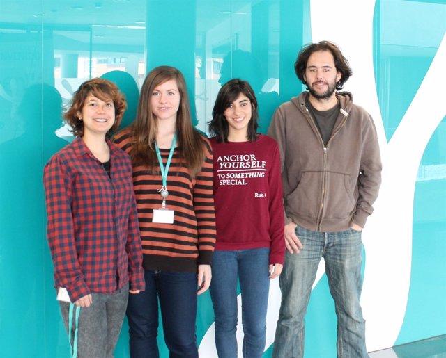 Grupo de científicos donde se incluye la universidad de Granada.